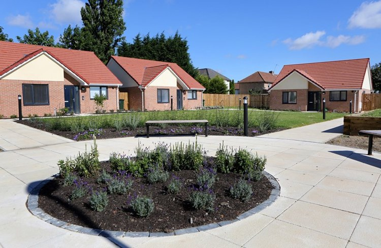 Supported Walker bungalows win prestigious design award