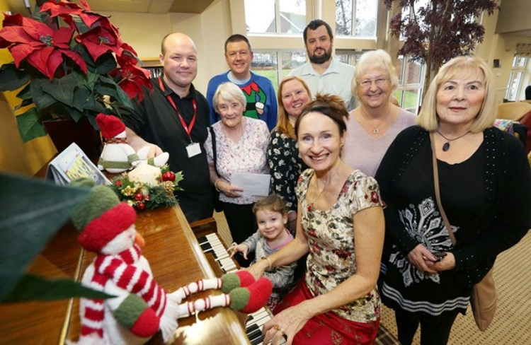 Christmas takes off at The Manors in Prudhoe
