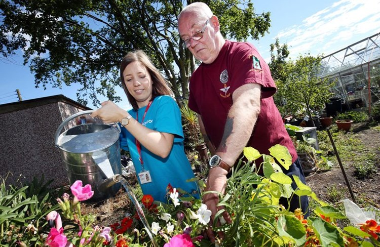 Organisations step in to help transform community garden