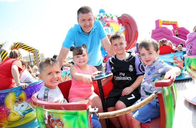 Residents welcome to Cleadon Park fun day