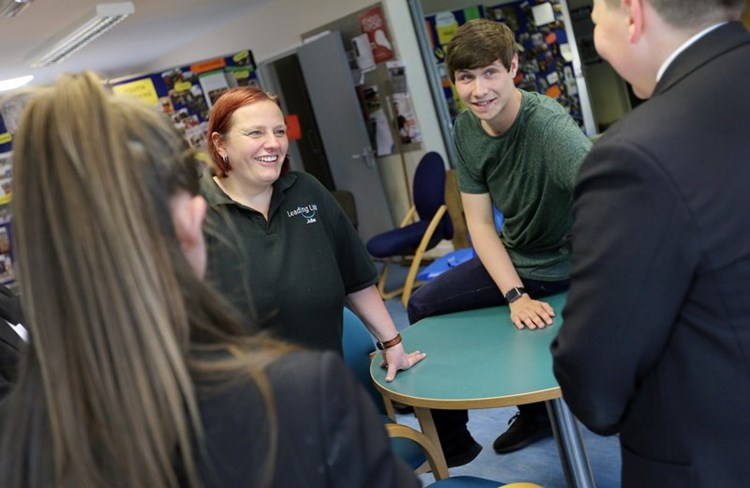 Young people in Northumberland learn valuable life skills