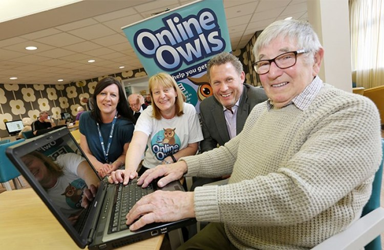 Digital project launches to encourage older people to 'get online'
