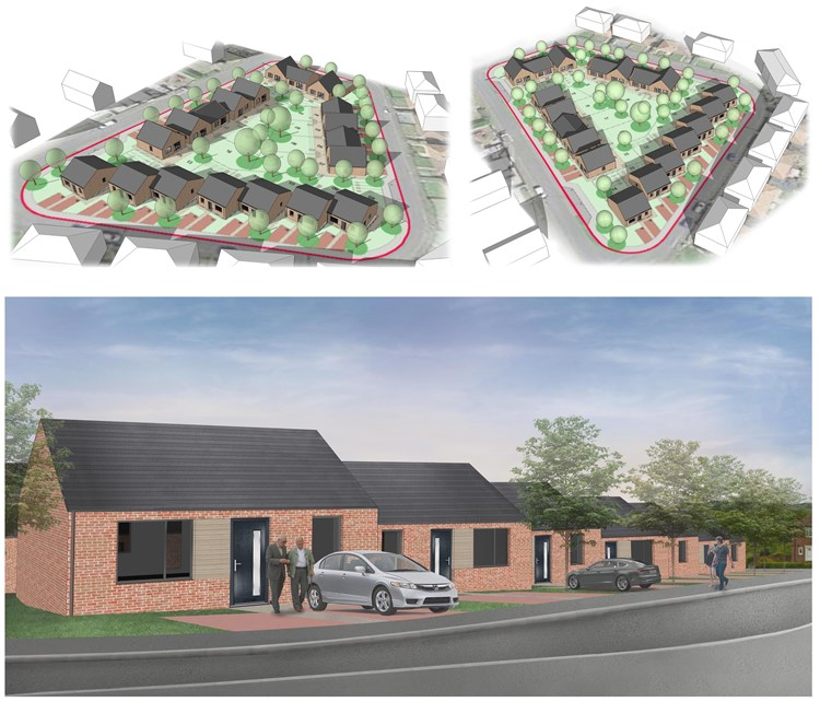 Investment in new affordable homes for Sacriston, County Durham