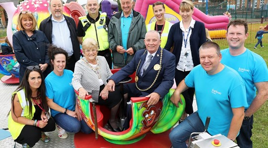 Cleadon Park celebrates the success of annual family fun day