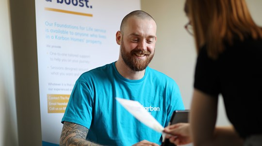 Employment support for residents of South Tyneside