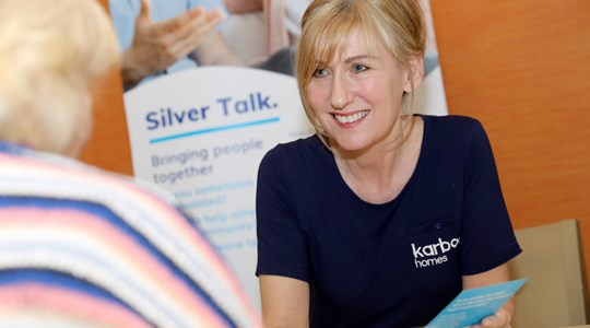 Karbon's Silver Talk service - It matters to natter