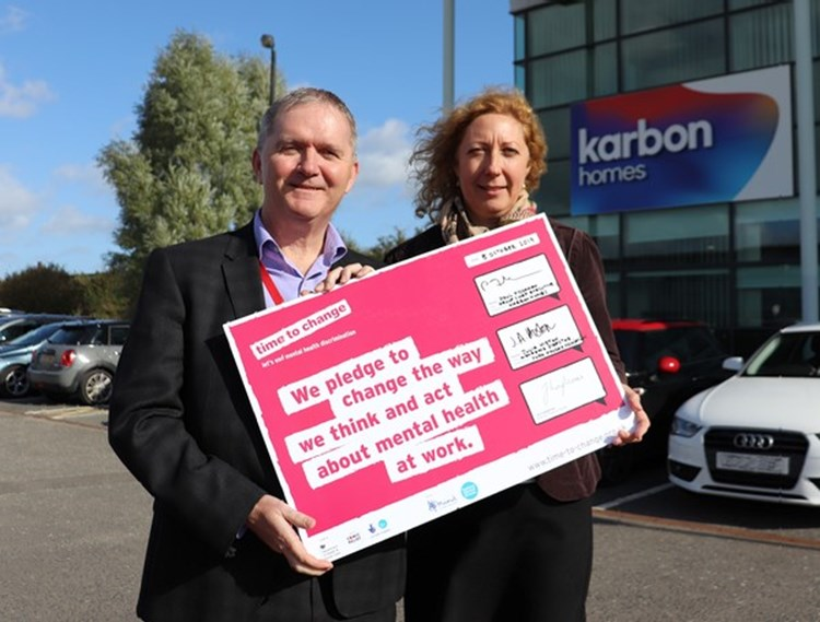 Karbon pledges that it's Time to Change