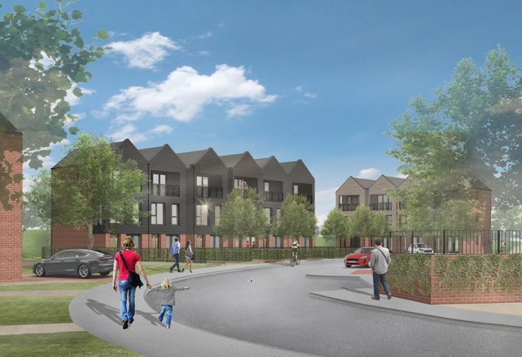New townhouses get the green light in Sacriston