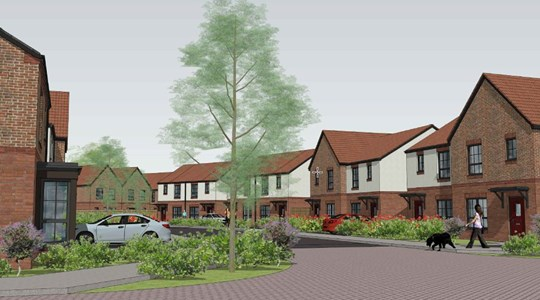 Plans submitted for Karbon's  first housing development in York